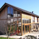 Holzrahmenbau als Anbau, Planung: Architekturbüro Axel Seidler